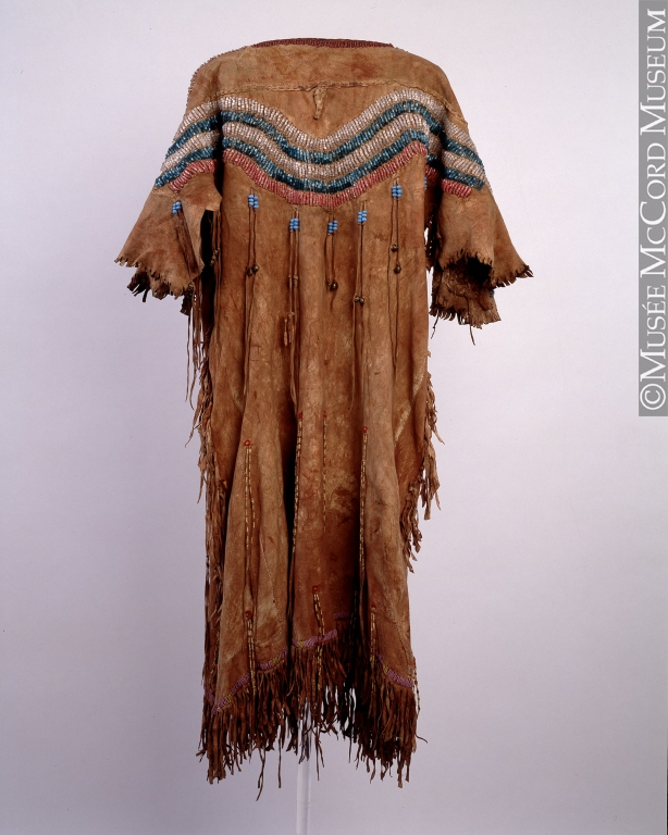 Dress, Northern Plains, 19th Century. Gift of Hayter Reed, ME931.1.17. © McCord Museum