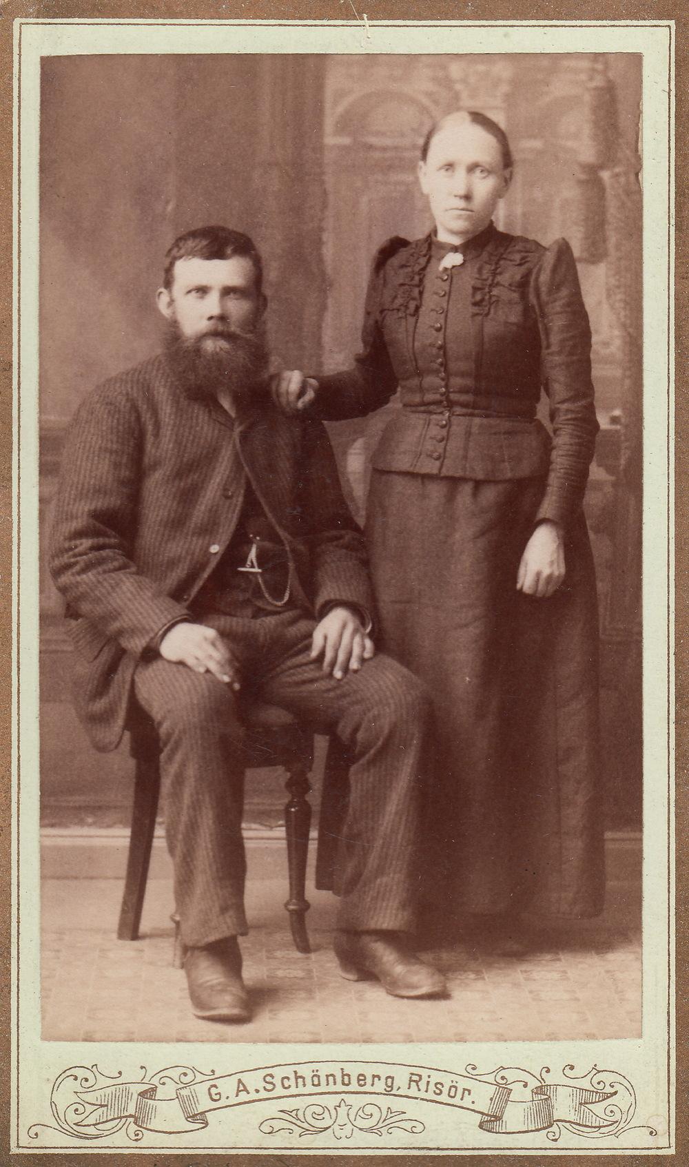 Anders og Maren Melås Lia - Emigrerte til USA i 1893.