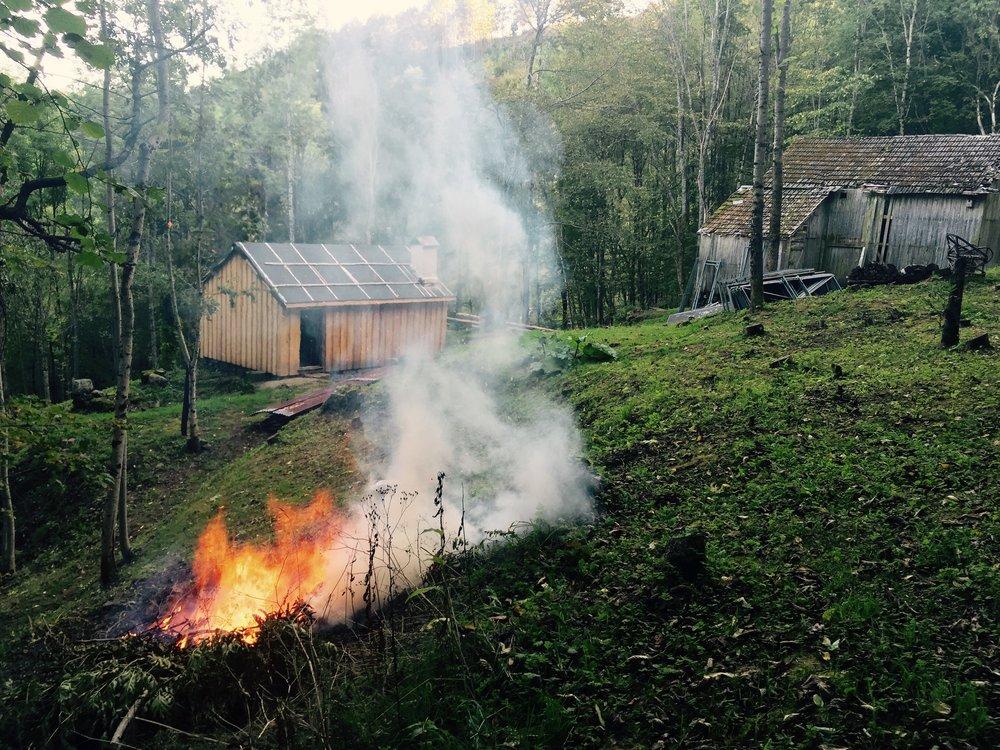 Alltid kvist å brenne på i Lia.