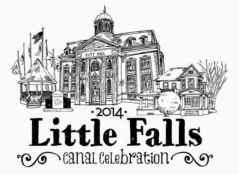 Logo for 2014 Little Falls Canal Celebration, this August.