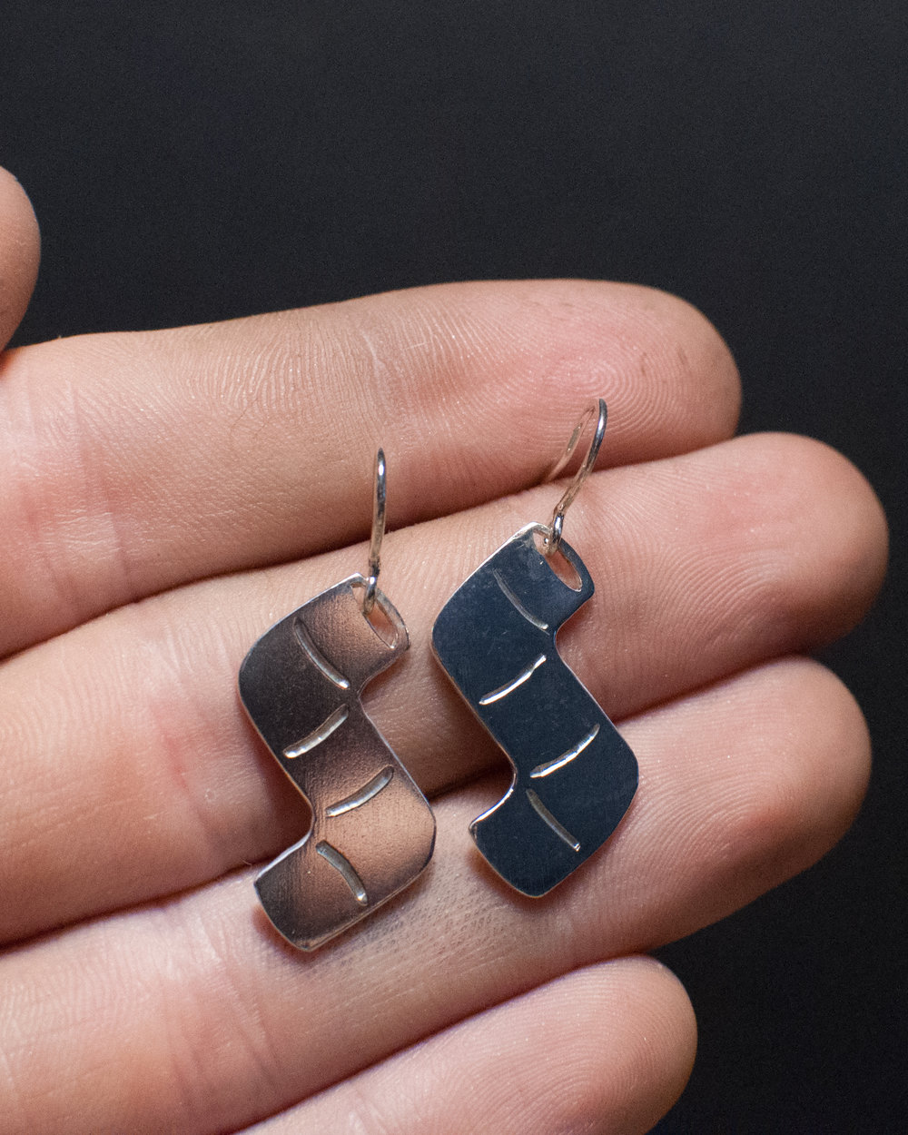 Pipe Earrings