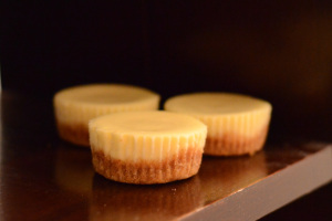 NY Mini Cheesecakes