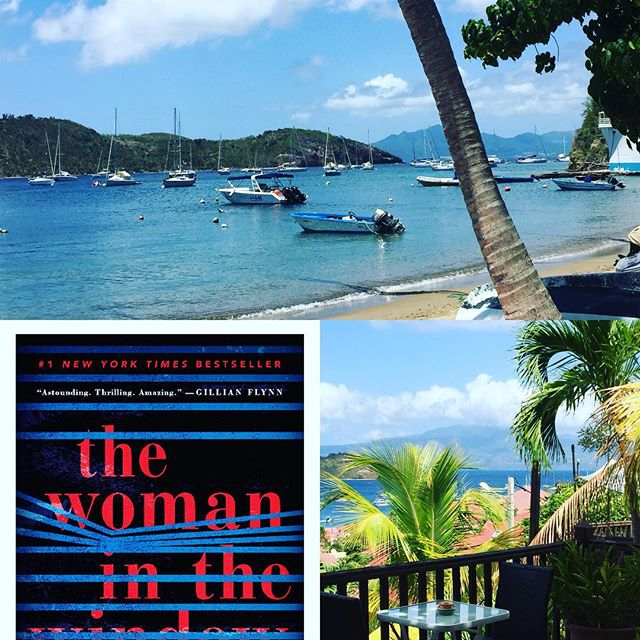 Vacation book #womaninthewindow #beachread
