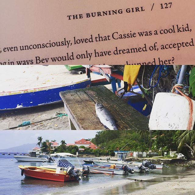 #theburninggirl Book3. Familiar but different @clairemessud  #vacationread #notworriedaboutnoreastertoby