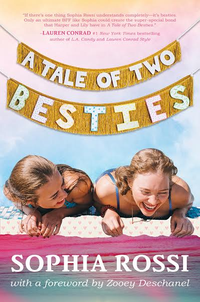 Fringe Banners I made for the paperback edition of A Tale of Two Besties by Sophia Rossi, cover by Anthony Elder.  Penguin Random House May 2016