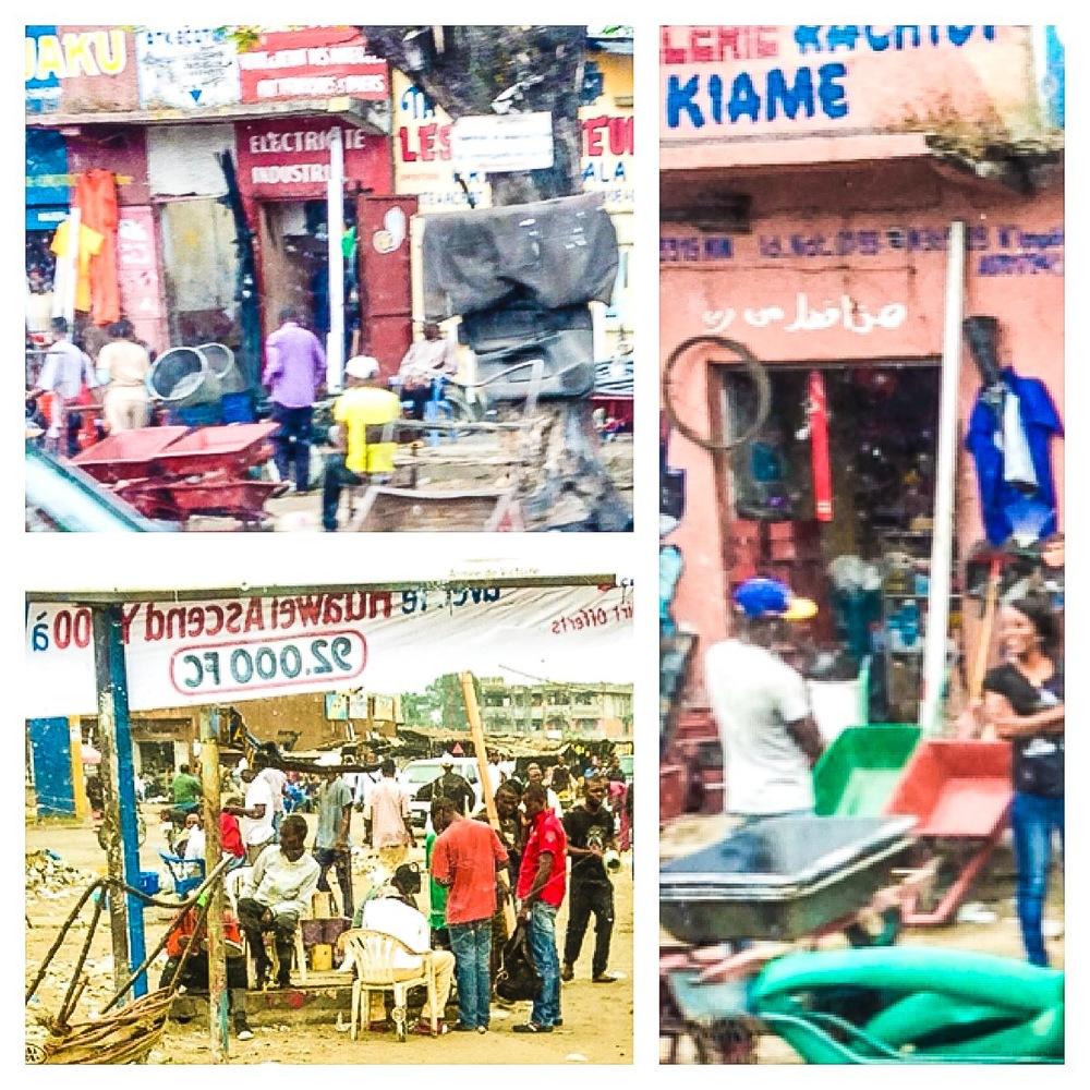ンギリ・ンギリ地区の町中
