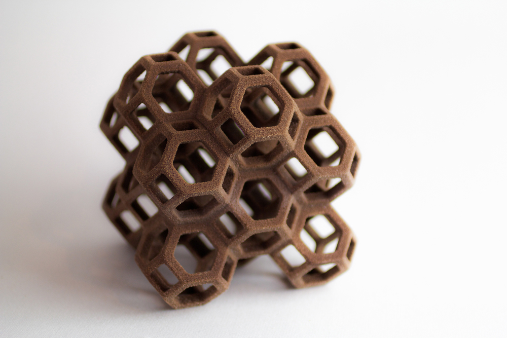 3D Printed Chocolate from a collaboration between 3D Systems and The Hershey Company