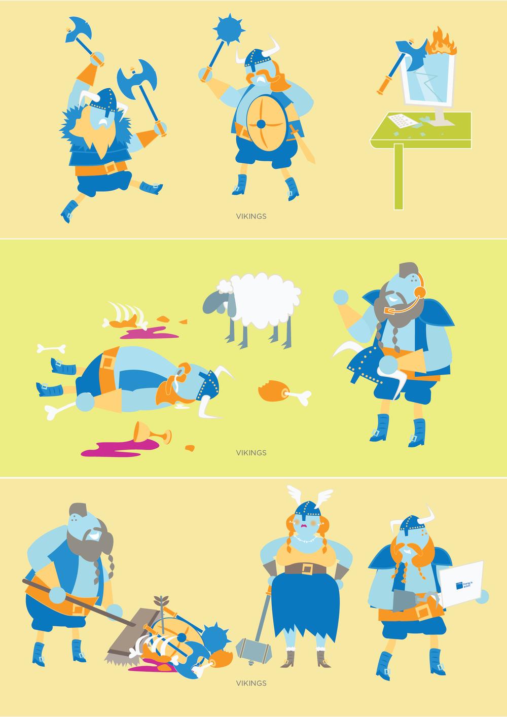 agl vikings characters