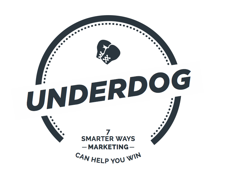 Underdog  In 3.5 hours you will cover 7 practical initiatives with hands on facilitation. You will receive practical tools and tips for you to takeaway and apply straight into your business. Review your marketing message and make it work.