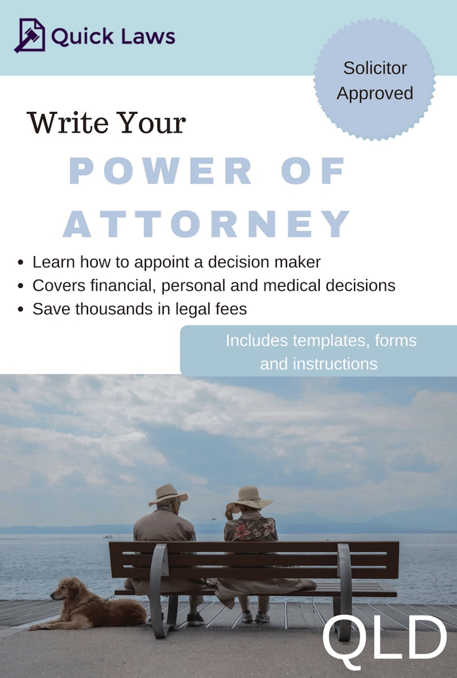 power of attorney form queensland australia  Power of Attorney kit (QLD) | Quick Laws