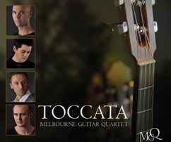 """The Melbourne Guitar Quartet are a brilliant addition to Australia's musical landscape. Their combination of innovative arrangements and superb ensemble playing is a joy to listen to. This is exactly what the classical guitar world needs."" Slava Grigoryan Melbourne Guitar Quartet Engineered and Mixed by Myles Mumford"