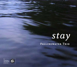 "Fallingwater Trio's Debut Album ""Stay"". Out now on Jazzhead"