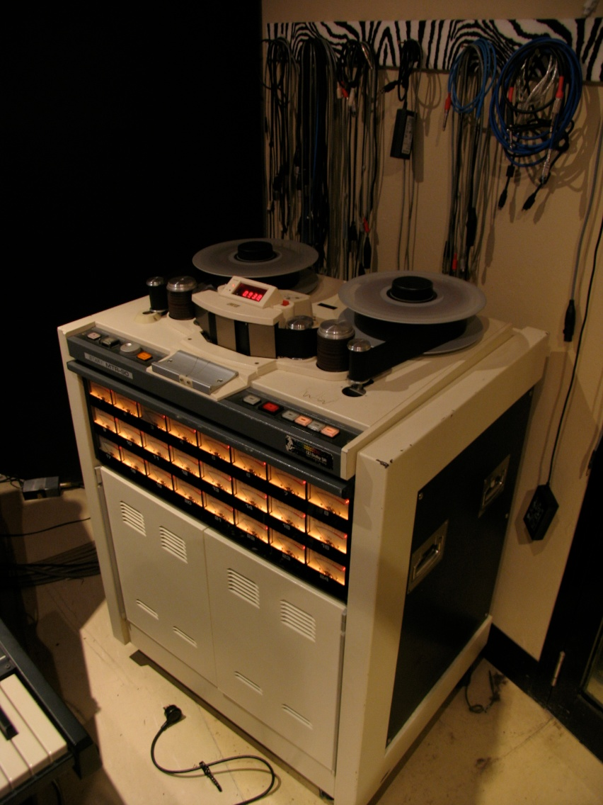 Rolling tape at Atlantis Sound.jpg