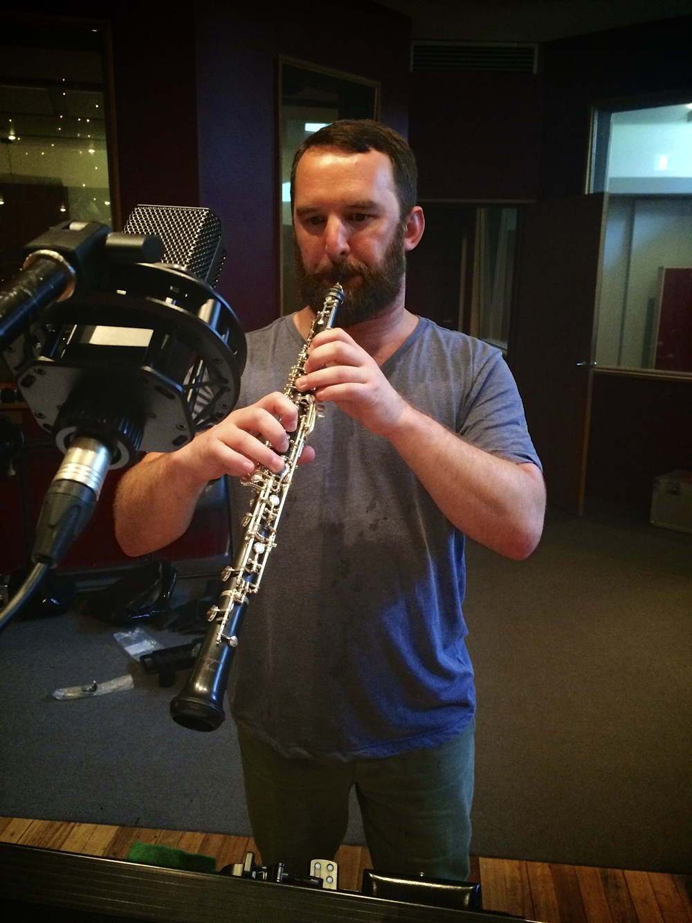 Ben, the oboe, and the LCT640.jpg