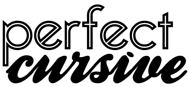 perfect cursive wordpress