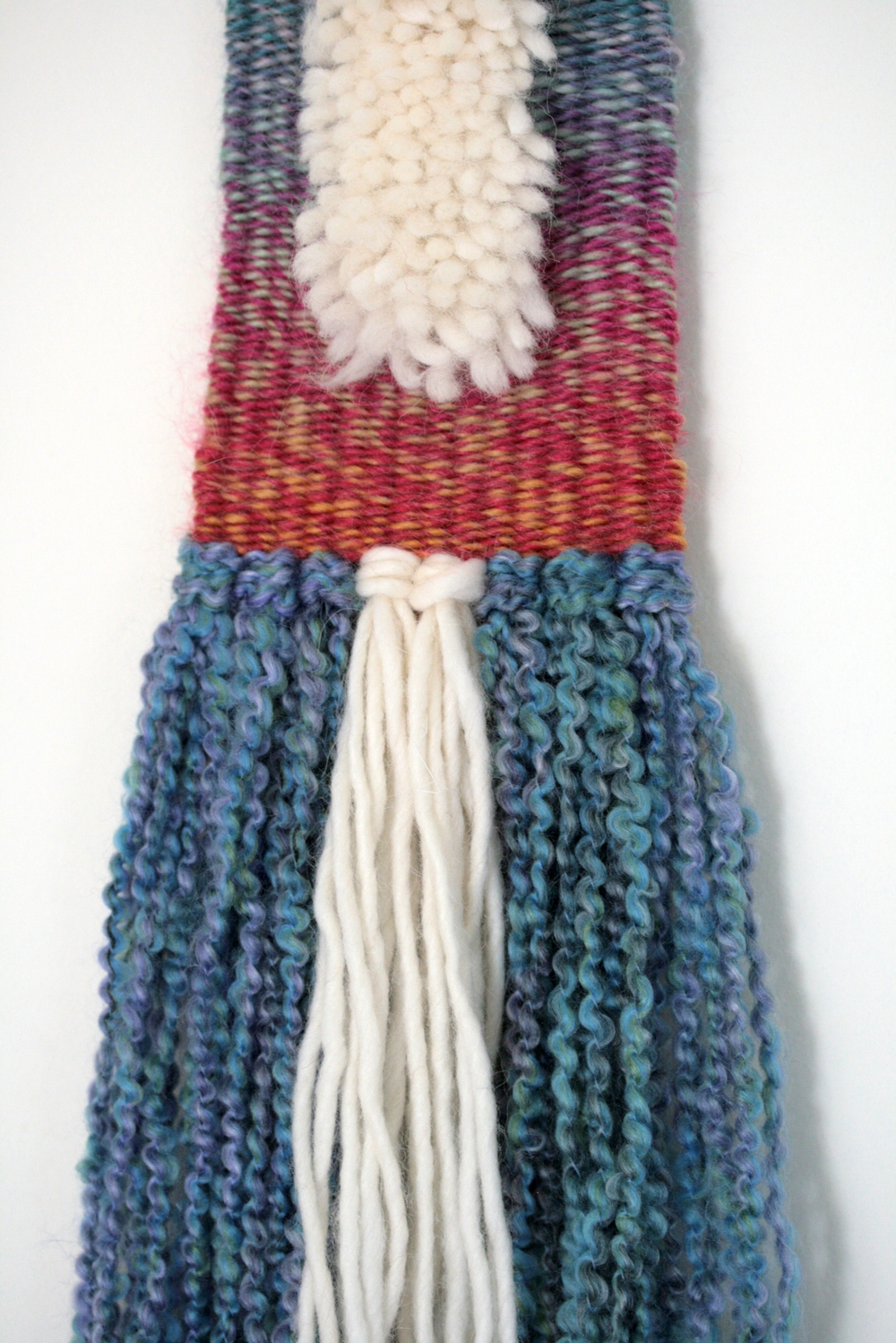 Gradient Fur Wall Hanging