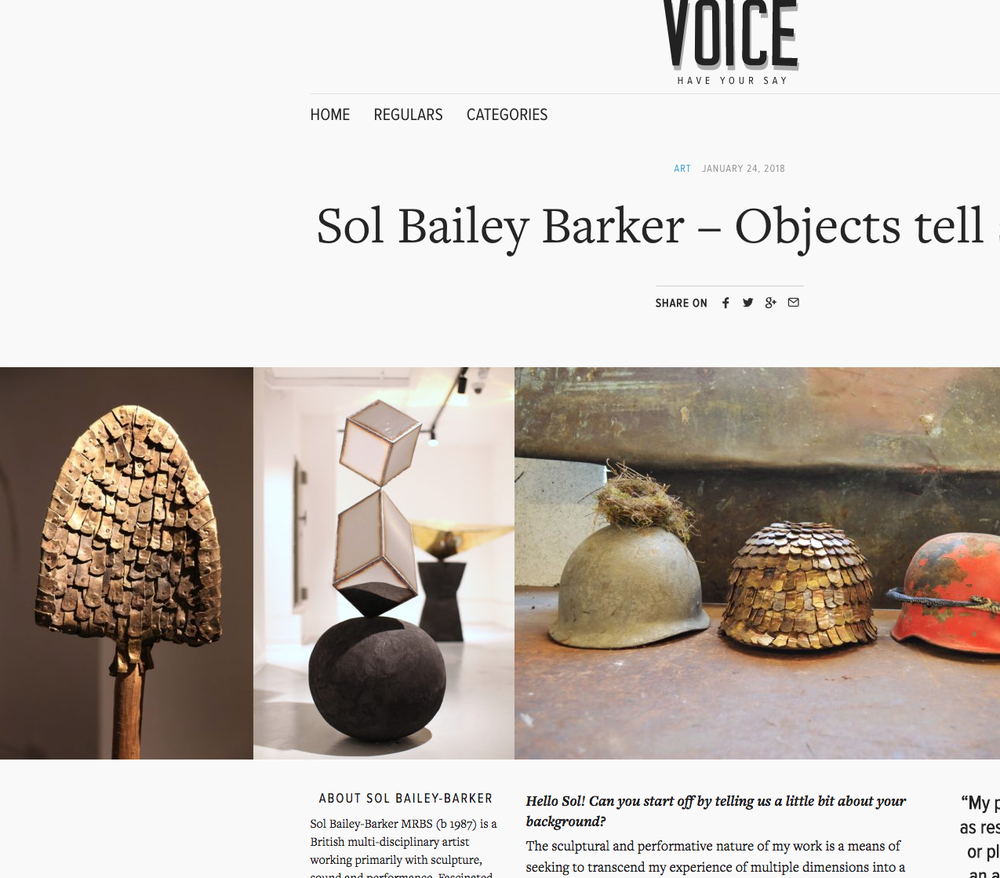 sol bailey barker interview silver lake voice