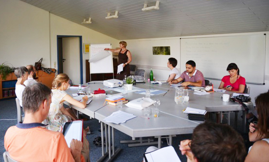 Teaching Business students at IFES Conference Berlin, July 2014