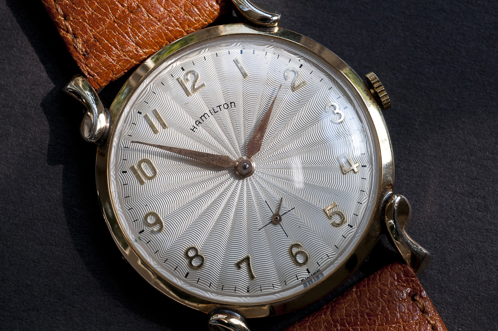 Hamilton Carlyle with 10K RGP Case