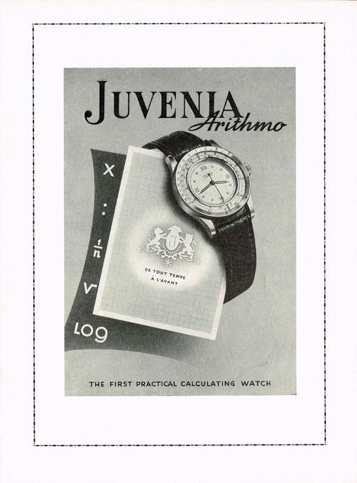 Juvenia  Arithmo  period advertisement