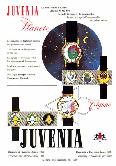 Juvenia  Trigone  period advertisement