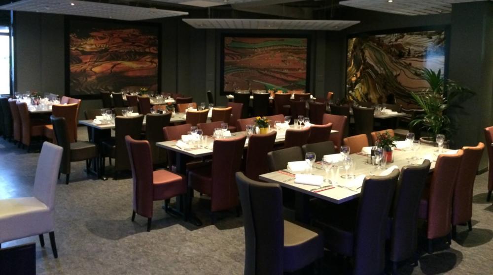 Restauranthuset Malin i Sogndal - ein stor restaurant med 230 sitjeplassar