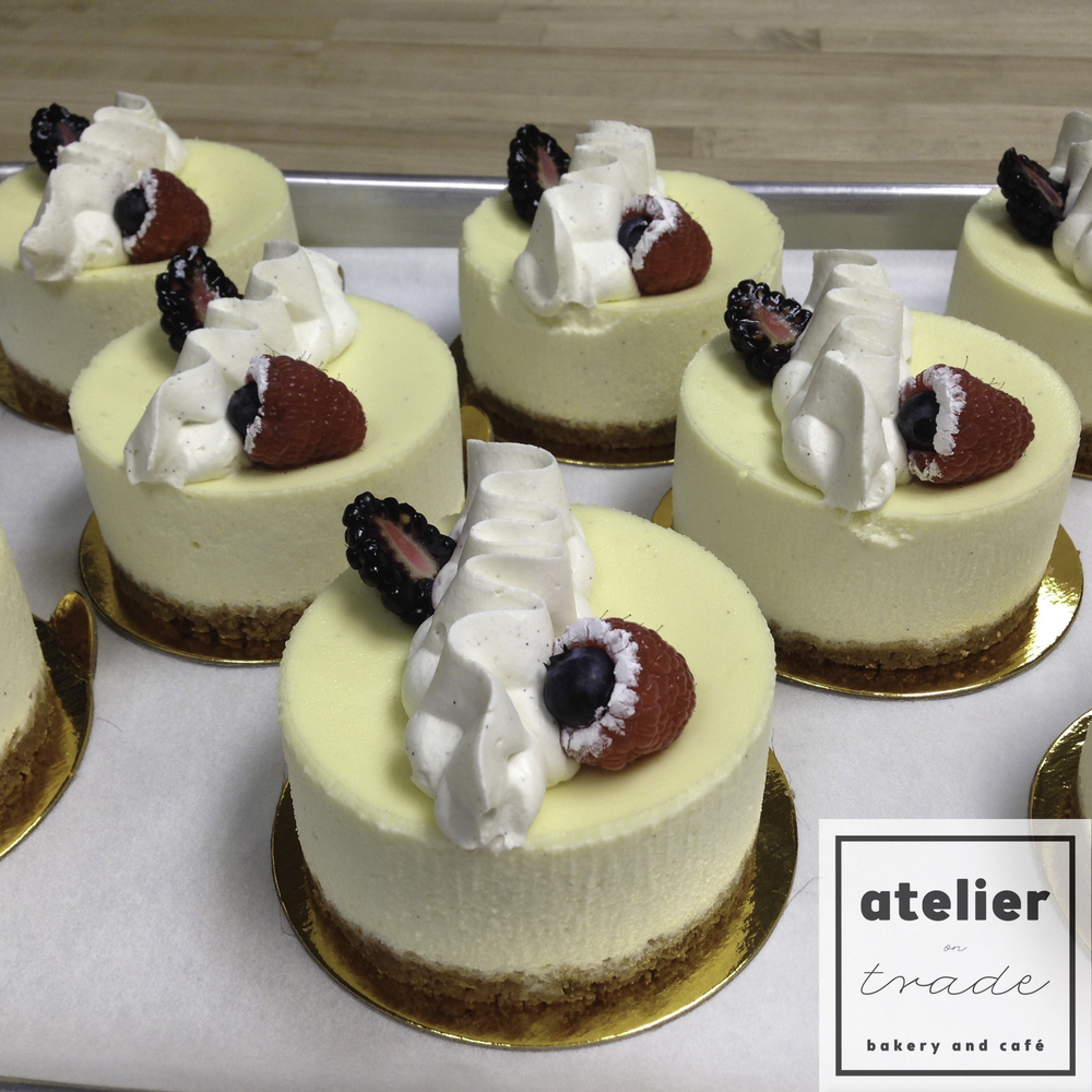 Atelier on Trade Mini Vanilla Bean Cheesecakes.jpg