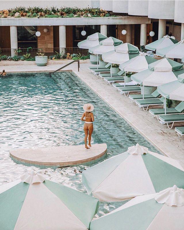 Pool goals 💦 @thecalilehotel via @lisadanielle__