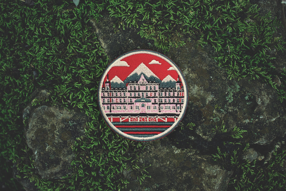 Château in the Mountains Patch