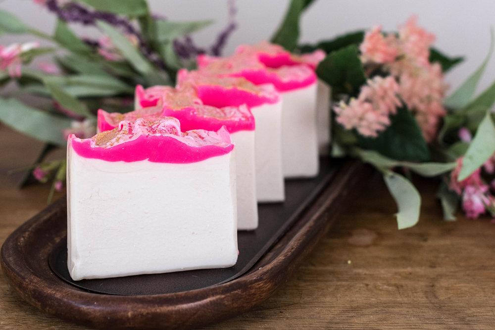 Candied Ginger Vegan Handmade Artisan Soap