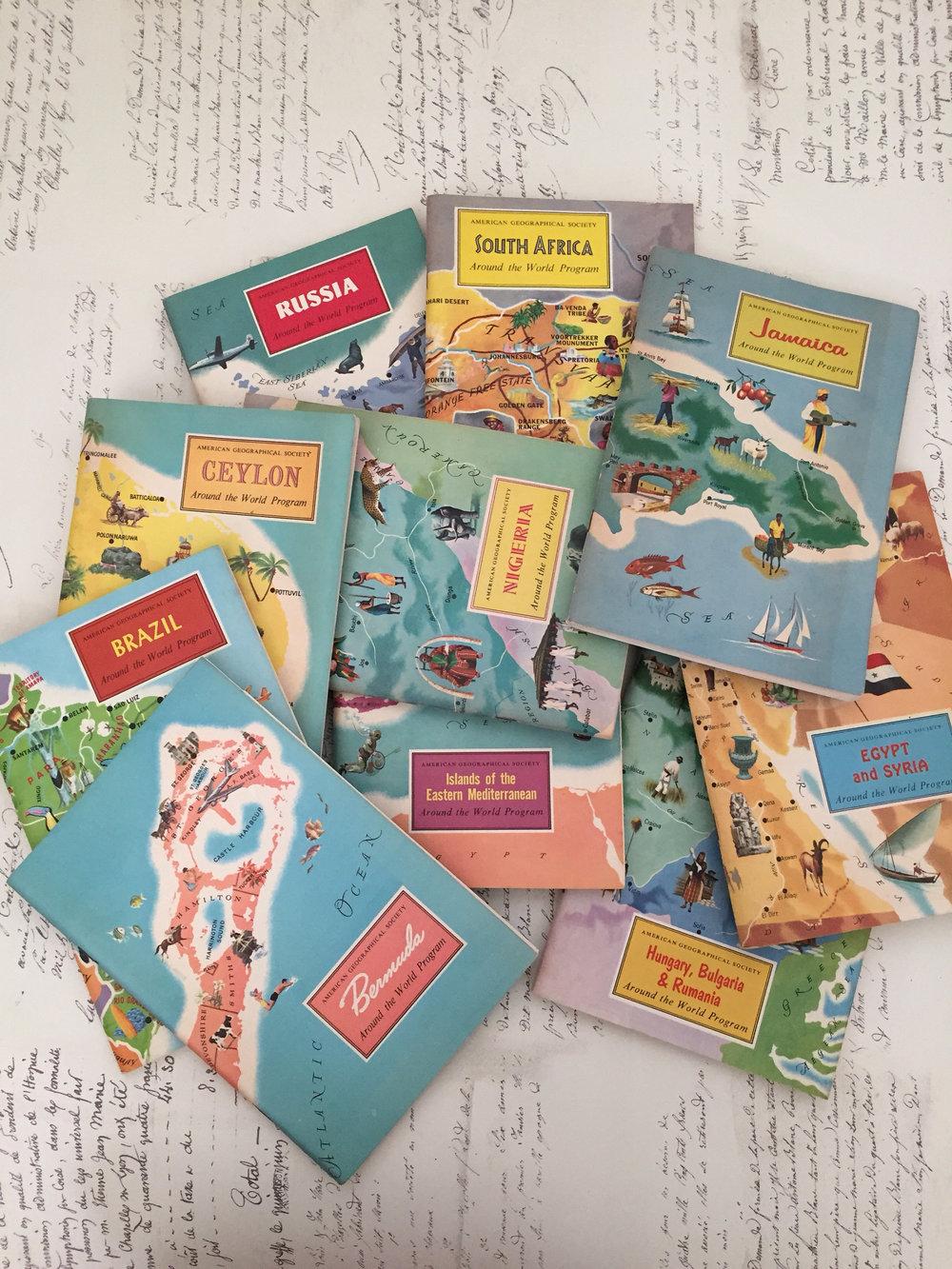 Vintage Travel Booklets