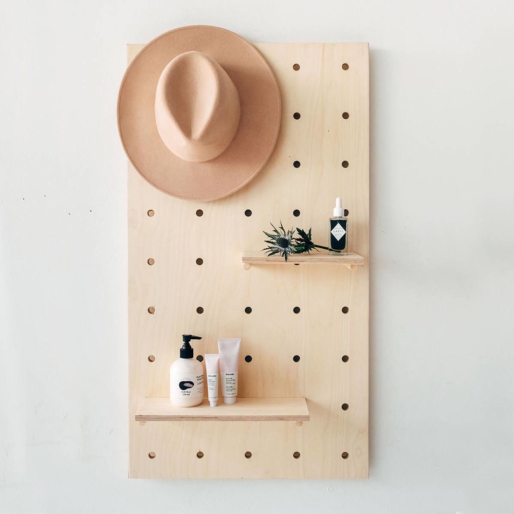 Display Birch Plywood Pegboard