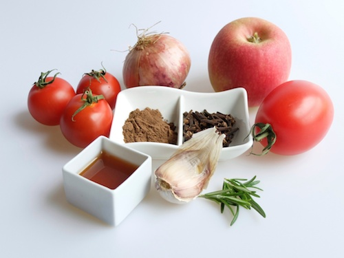 Ingredients for ketchup spices to add to this
