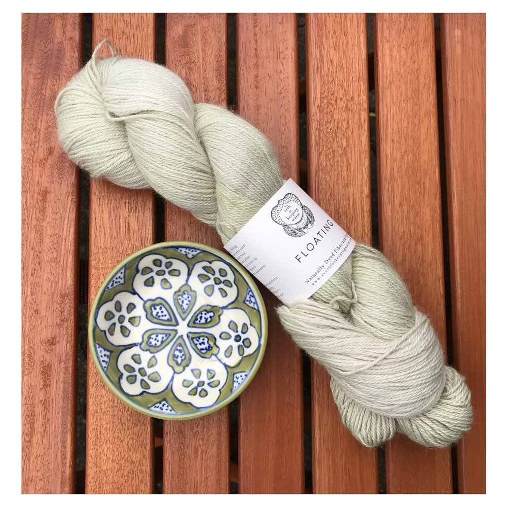 - Floating skein A verb for keeping warm