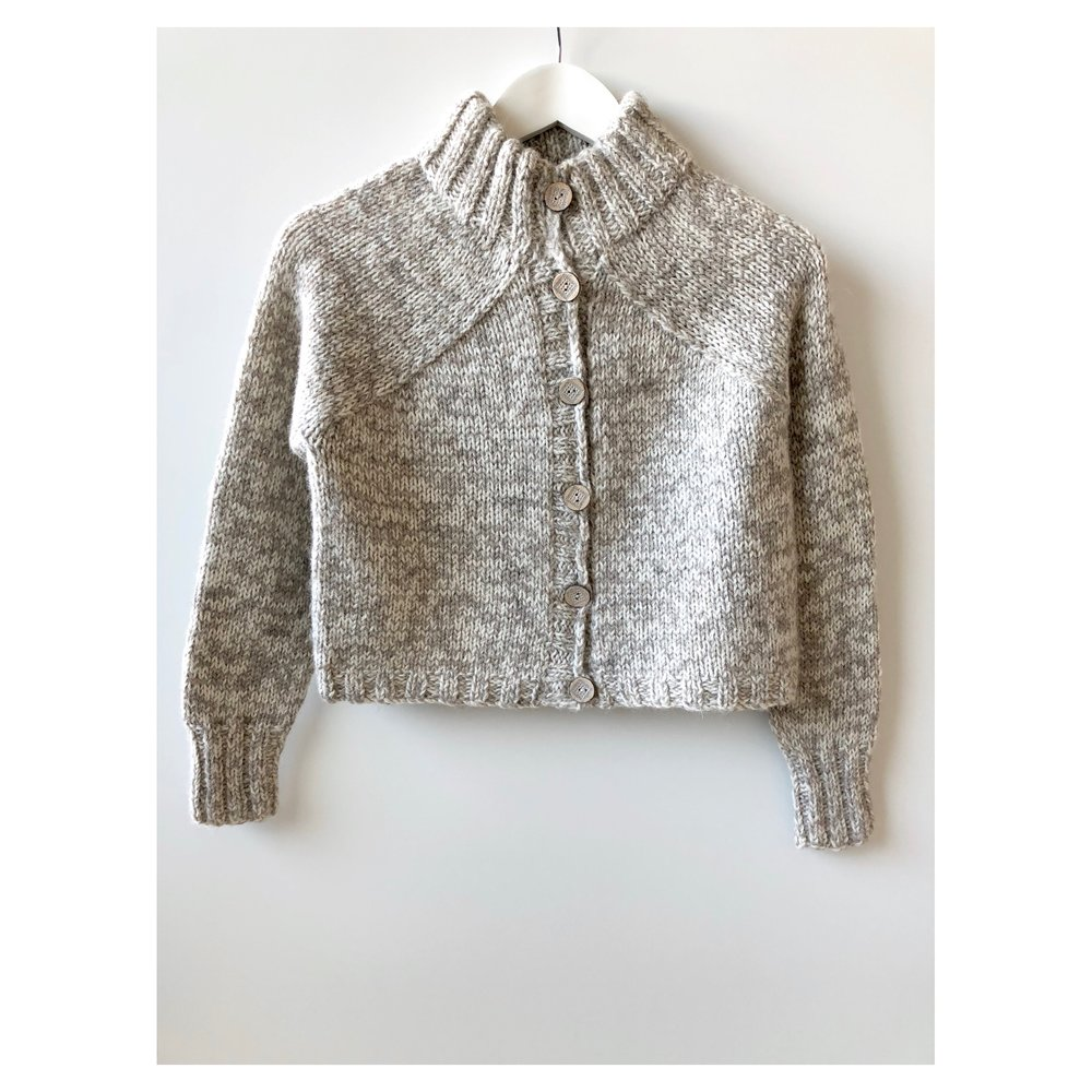 Carbeth cardigan  : Buachaille Ptarmigan and Haar  marled
