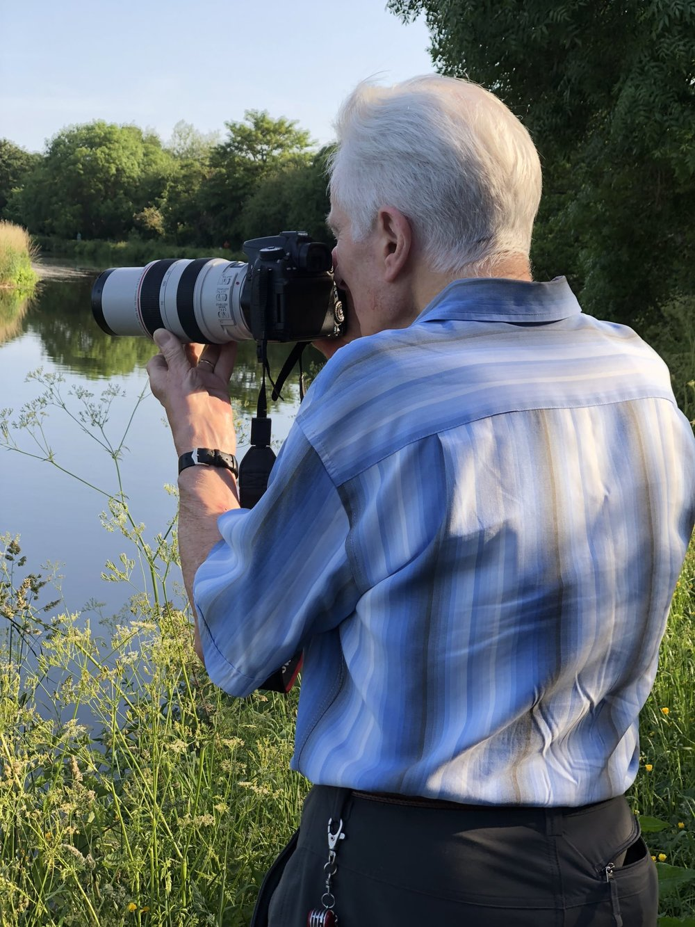 dad behind the lens last week
