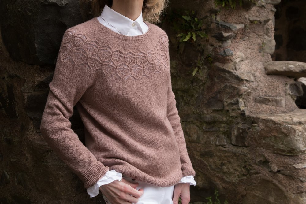 Adelaide : designer Isabel Kraemer for Brooklyn Tweed Wool People 12 : Vale in Arabesque