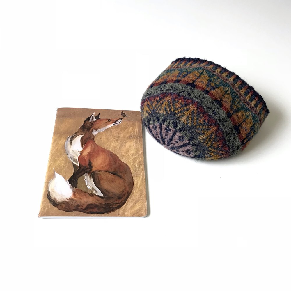 Autumn hues : Alice Starmore Oregon hat