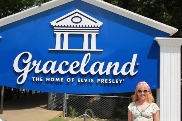 Graceland, Memphis, Elvis is King!!!