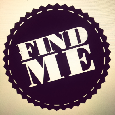 FIND ME logo designed by Lewis McLean