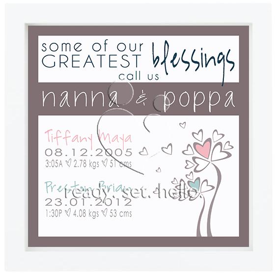 Celebrating Nanna & Poppa