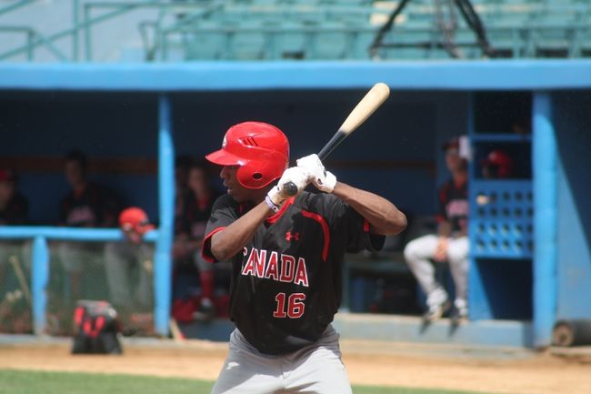 Jamar Burnette - Team Canada Jr Baseball