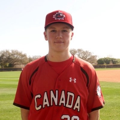 Sam Turcotte - Team Canada Jr Baseball