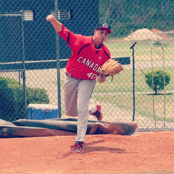 Nick Virdo - Team Canada Jr Baseball