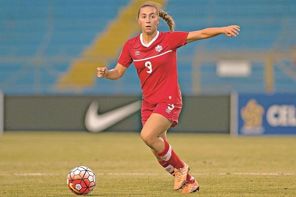 Sara Strategakis - Team Canada Women's Soccer