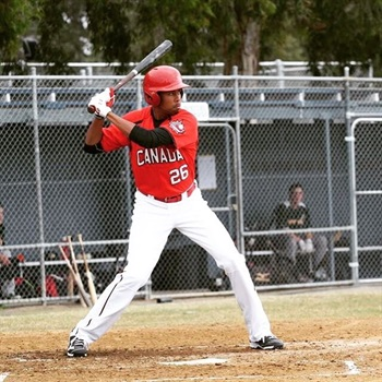 Tristan Pompey - Team Canada Jr Baseball