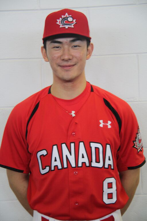 Royce Ando - Team Canada Jr Baseball