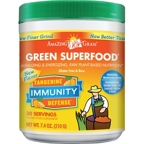 Amazing Grass Tangerine Immunity Defense - See this and more Healthy Cold and Flu Remedies from YES! Nutrition, LLC | www.yesnutritionllc.com