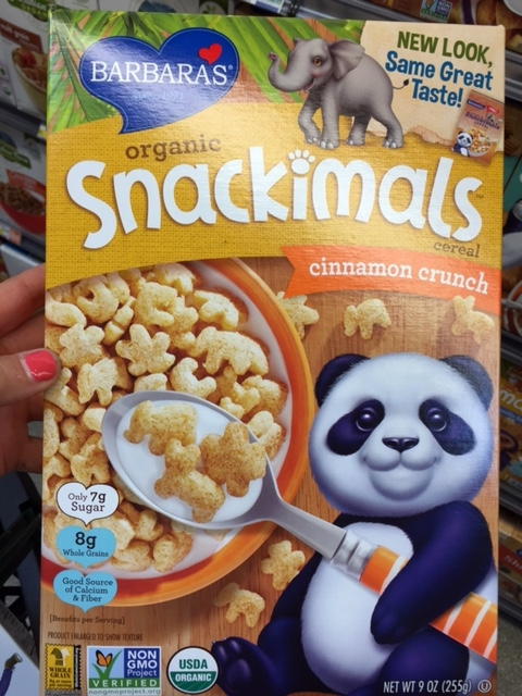 Snackimals Cinnamon Crunch | YES! Nutrition, LLC