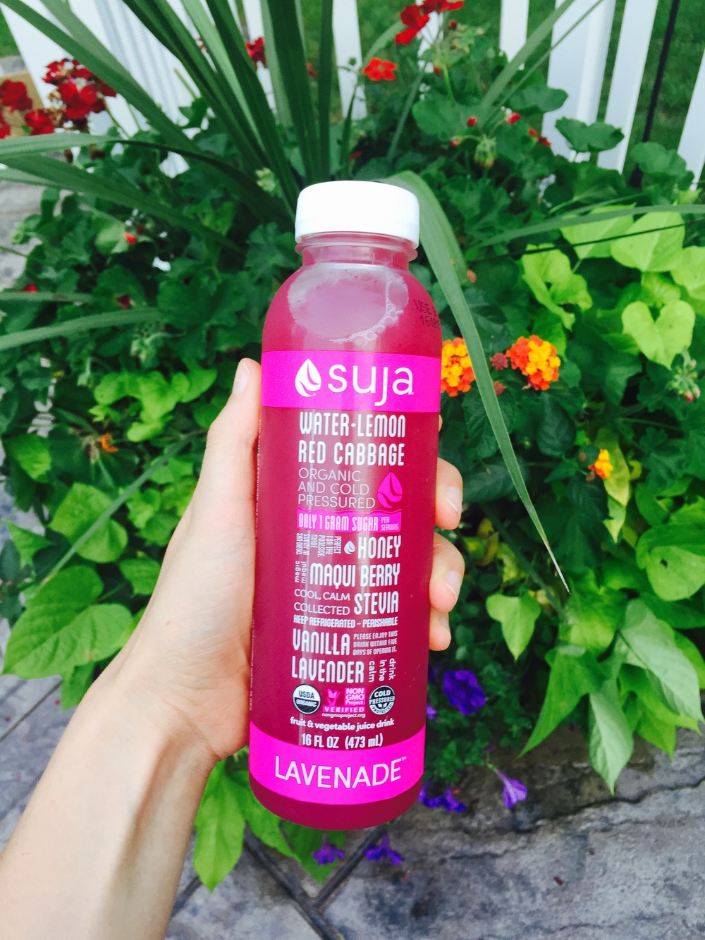 Suja Lavenade | 6 Better-For-You Summertime Beverages